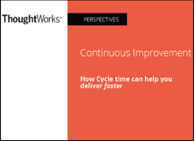 Continuous Improvement with Cycle Time