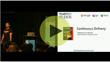 View a one-hour summary of Continuous Delivery by Jez Humble and Martin Fowler recorded at YOW Melbourne.