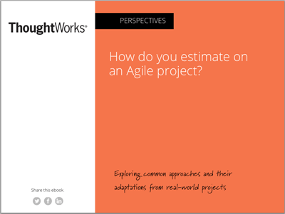 How do you estimate on an agile project?