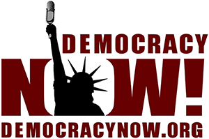 Democracy Now case study Logo